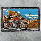 """Vintage David Mann Ghost Rider Tapestry Wall Hanging Print Poster Flag 35""""x54"""""""