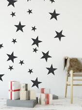 Star Wall Decals, Star Wall Stickers, Star Wall Decals Nursery, Childrens Decor