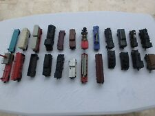 Lionel O Gauge Scale Lot of 24 Assorted Trains Locomotives Freight Box Flatbed