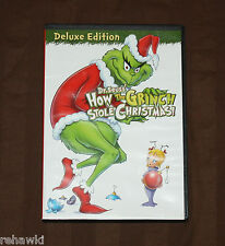 DR. SUESS How the GRINCH Stole CHRISTMAS (DVD, 2009) KIDS DISNEY LIKE DVD