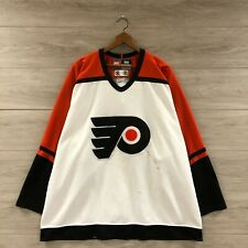 Vintage Philadelphia Flyers NHL Authentic Nike Fight Strap Hockey Jersey Size 56