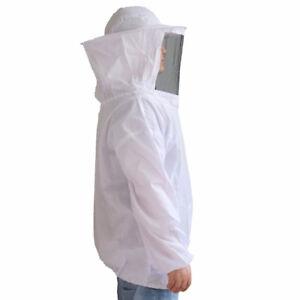 Vestito protettivo protezione giacca+cappello schermato apicoltore apicoltura