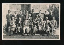 Somerset CLEVEDON Victoria Convalescent Home Group photo 1940 RP PPC