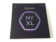 D'Addario Guitar Strings  3 Pack  NYXL 1149  Electric  Medium  11-49