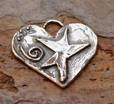 Mothers Day Heart Pendant, Mom Love Always in Sterling Silver, H-460