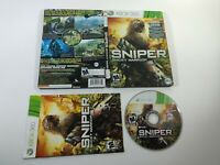 Sniper Ghost Warrior Steelbook and Game Xbox 360 CI Games 2010 Complete