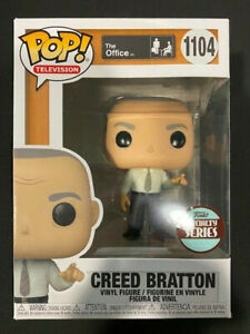 Funko Pop! The Office Creed Bratton Specialty Series 1104 with Protector