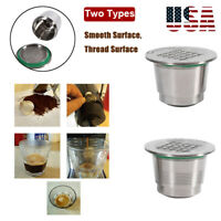 304 Stainless Steel Refillable Reusable Coffee Capsule Pod Kit
