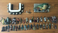 Star Wars Huge Jabba's Palace/Barge and Cantina Figure Lot Vintage Collection