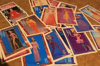 Barbie Fashion Fun Facts Cards~Lot of 26~1990 Mattel First Edition Cards