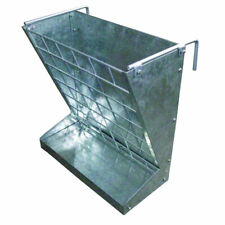 Little Giant Classic Heavy Duty Galvanized Metal 2 In 1 Goat And Sheep Feeder
