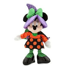 DISNEY STORE HALLOWEEN PLUSH MINNIE MOUSE WITCH 2015 DISNEY PARKS AUTHENTIC NWT