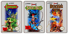 CASTLEVANIA NINTENDO NES COLLECTION OF 3 MAGNETS