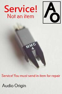 Repair Service MMC5 MMC4 MMC3 MMC2 MMC1 Bang & Olufsen stylus B&O cartridge