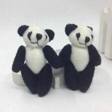 20pcs 6cm mini plush panda wedding gift decor stuffed dolls  kids gift bulk