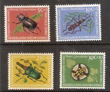 Ned.Nieuw Guinea    Nummer  69/72   postfris.