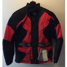barato oferta Nitro N75 Negro Rojo Textil Touring Chaqueta moto motocicleta XS