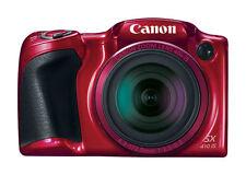 Canon SX410 IS PowerShot 3 Inch 20MP 40x 80x 720P HD Zoom Bridge Camera -  Red