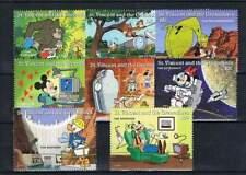 Serie Disney postfris MNH St. Vincent: Mickey Donald Goofy (dis136)