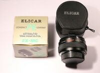 ELICAR 7 ELEMENT AUTOMATIC TELE CONVERTER 2X-MC FOR PENTAX K MADE IN JAPAN