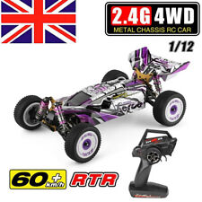 60km/h Wltoys 124019 RTR 1/12 2.4G 4WD Metal Chassis RC Car 550 Brushed Motor