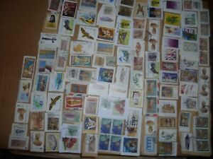 40 grams mixtures Cyprus stamps on single paper kiloware