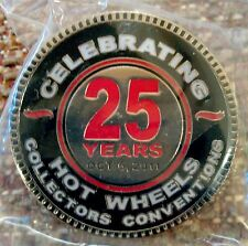 Hot Wheels 2011 25th Collector's Convention Dinner Lapel Pin