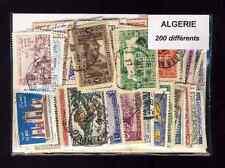Algérie 200 timbres différents