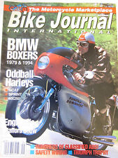 Old Bike Journal Magazine September 1993 BMW Boxers 1979 & 1994 Oddball Harleys