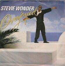 45 TOURS / 7' SINGLE--STEVIE WONDER--OVERJOYED / INSTRUMENTAL--1985