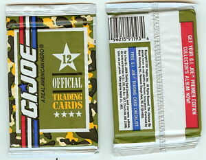 1991 Impel G.I. Joe  single Wax Pack