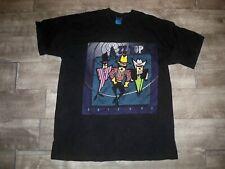 Vtg Fruit of the Loom Zz Top World Tour Tee Shirt 94 Antenna Rock 90s T-shirt Xl