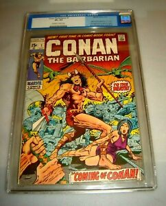Conan the Barbarian #1 (CGC) -213 + Annuals and Specials  Run Lot of 157 COMICS