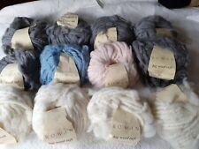12 x 50g balls Rowan Big Wool Tuft . New