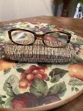 "Coach ""Lindsay"" (S429) Striped Tortoise 52[]18-130 Eyeglass/Sunglass Frames"