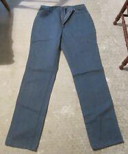 Wrangler Jeans Size 16 Length 34 Straight Leg 13MDBM Medium Blue No holes