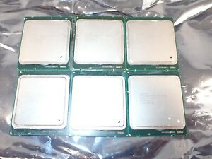 Lot of (6) Intel Xeon E5-2660 SR0GZ 2.2 GHz 20MB 8 core LGA 2011  CPU Processor