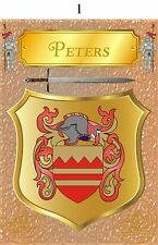 Family coat of arms  A4 260gms Photographic paper 7 designs