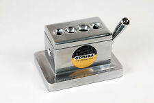 Cohiba Quad Table Desktop Cigar Cutter Stainless Steel / FREE SHIPPING