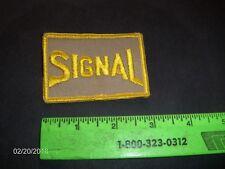 SIGNAL Gasoline Uniform Patch; Gas, Oil, Petroliana, Service Station, Gas Pump