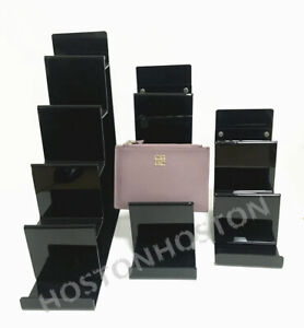 Top Quality Acrylic Wallet Purse Cluth Bag Display Stand Retail Shop Holder