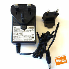 WD TV Live Hub Media Center WDBABZ0010BBK WDBACA0010BBK AC ADAPTER 12V 2A UK EU
