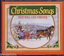 Readers Digest CHRISTMAS SONGS LIVE FOREVER 3CD NORMAN LUBOFF CHOIR PERRY COMO