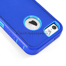 Hybrid Rugged Shockproof Rubber Protective Hard Case Cover For iPhone 5 SE 5S 5C