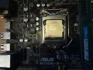 Intel i5-6400 @ 2.7GHz, 8Gb 2133MHz DDR4, ASUS H11DM-R Motherboard