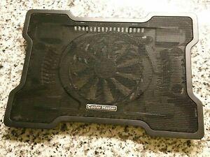 Cooler Master NotePal X-SlimLaptop Cooling Pad w/160mm Fan. Black.