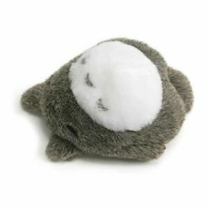 "Totoro Plush Toy Laying Down Beanbag 2.5"" GUND"