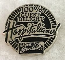 Olive Garden Employee Pin Hospitaliano Lapel Pin Guest Delight Pin A60