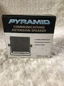PYRAMID CB-1000 25W Max CB & HAM External Communications Speaker, Brand New