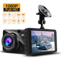 1080P Dual Lens Car Dash Camera Recorder Front and Rear Dashboard DVR G-Sensor